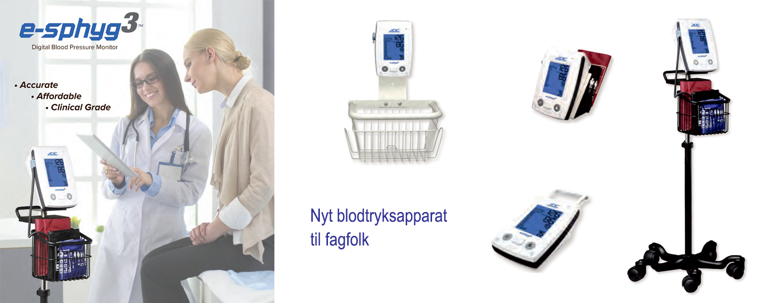 ADC E-sphyg3 Blodtryks apparat for fagfolk